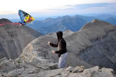 Mt. Timp Kite Flying